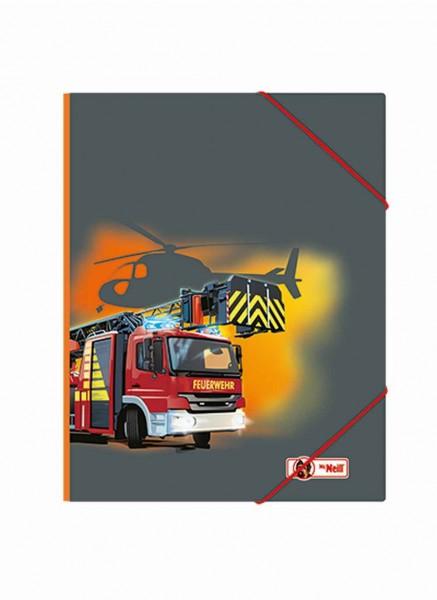 McNeill Gummizugmappe A4 Feuerwehr