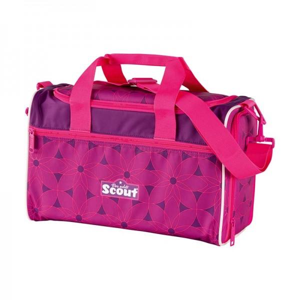 Scout Sporttasche Pink Flowers