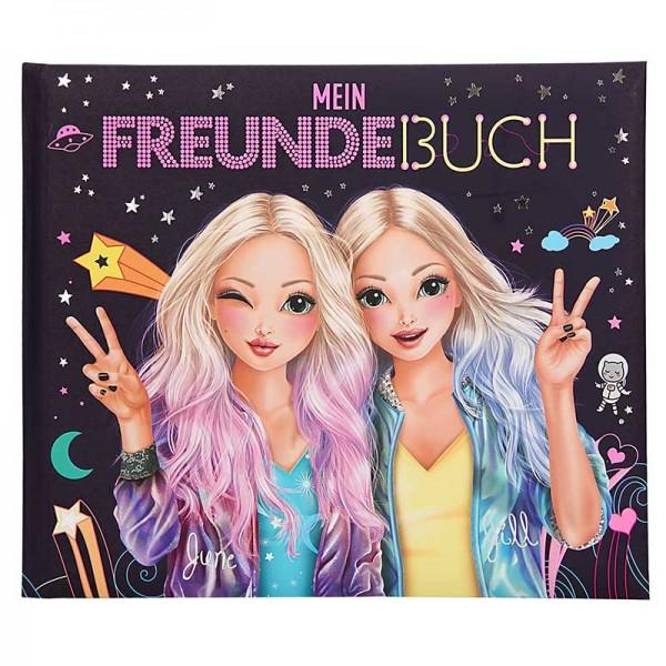 Freundebuch Topmodel June & Jill