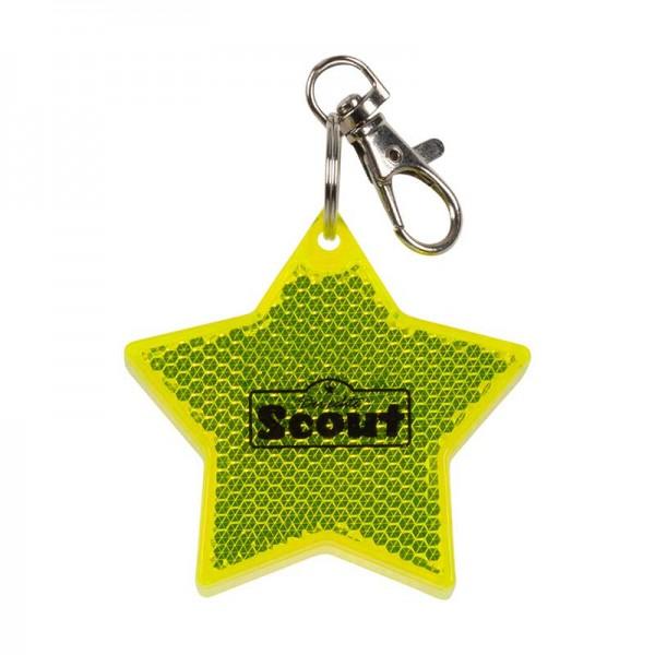 Scout Schulranzen Blinklicht mit Karabiner, Stern