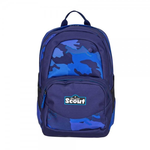 Scout Rucksack X Blue Police