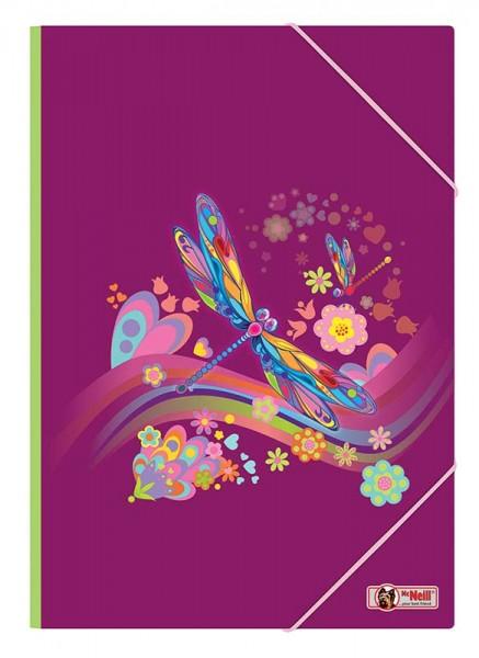 McNeill Gummizugmappe A4 Libelle