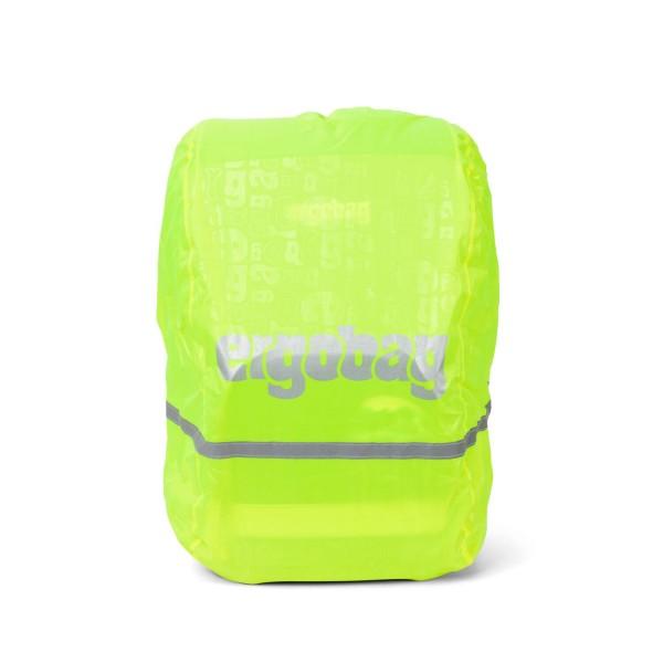 Ergobag Regenschutzhülle Regencape für Schulranzen, gelb