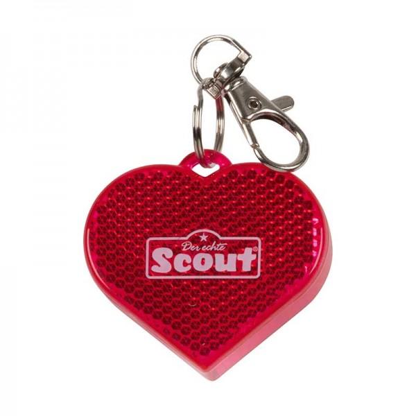 Scout Blinklicht für Schulranzen, Herz