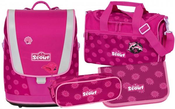 Scout Ultra Schulranzenset 4tlg. Pink Daisy