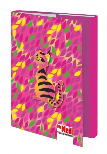 McNeill Heftbox DIN A4 Crazy Cat