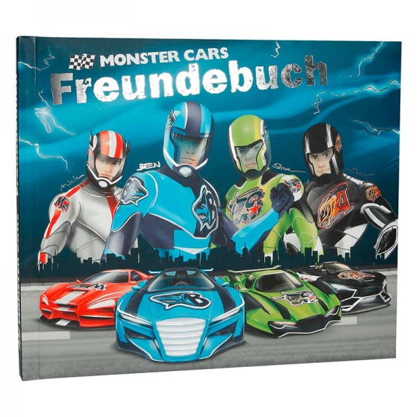 Freundebuch Monster Cars (6317_A)