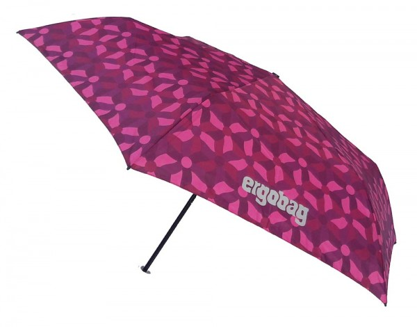 Ergobag Kinder Regenschirm NachtschwärmBär mit Reflektor