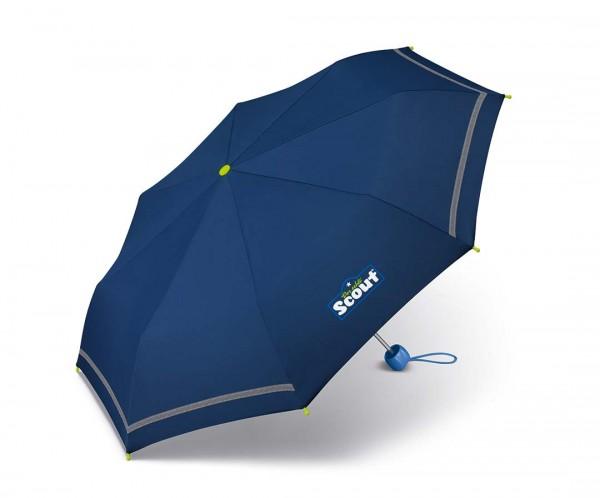 Scout Regenschirm Basic Blau / Blue
