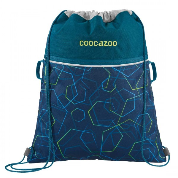 Coocazoo Sportbeutel Turnbeutel RocketPocket2 Laserbeam Blue
