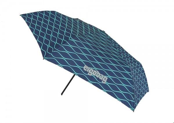 Ergobag Kinder Regenschirm BlubbBär mit Reflektor