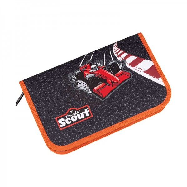 Scout Etui Federmäppchen 23tlg. Red Racer