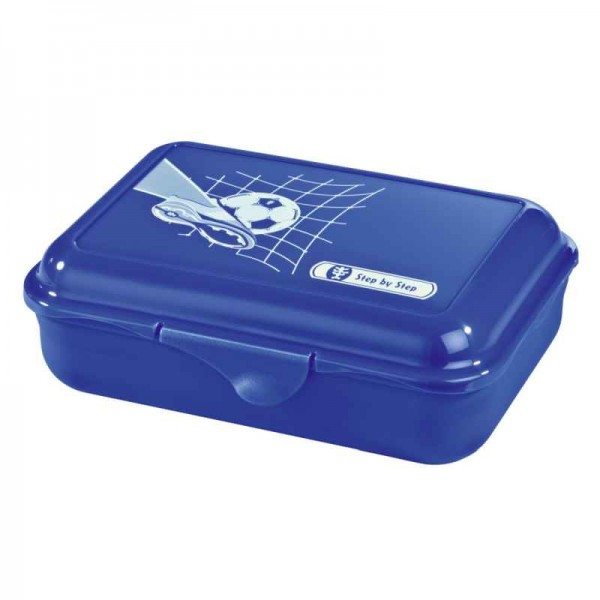 Step by Step Lunchbox Brotzeitbox Soccer Team