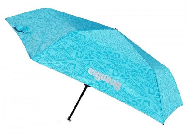 Ergobag Kinder Regenschirm Hula HoopBär mit Reflektor