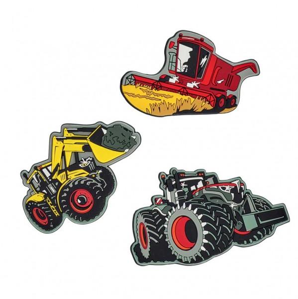 Scout Funny Snaps 3er-Set Landmaschinen