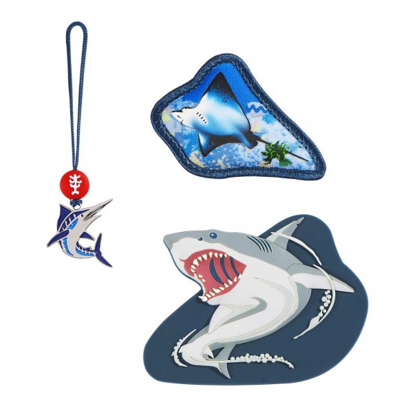 Step by Step Magic Mags Angry Shark