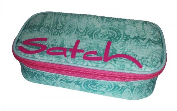 Satch Schlamperbox Schlampermäppchen Aloha Mint