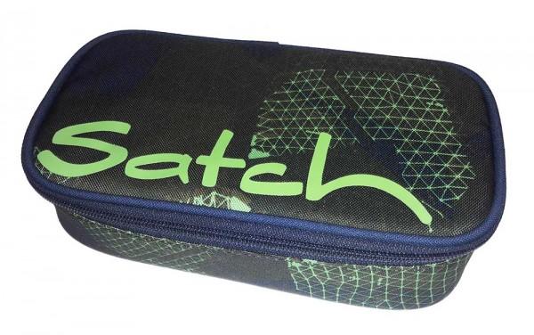 Satch Schlamperbox Schlampermäppchen Infra Green