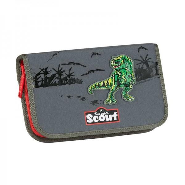 Scout Etui / Federmäppchen 7tlg. Green Dino