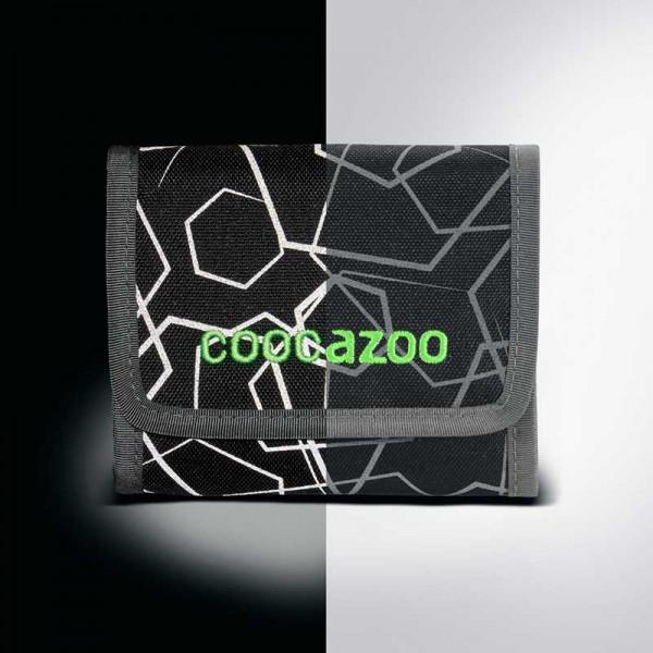 Coocazoo Geldbörse Cash Dash Laserreflect Solar-Green