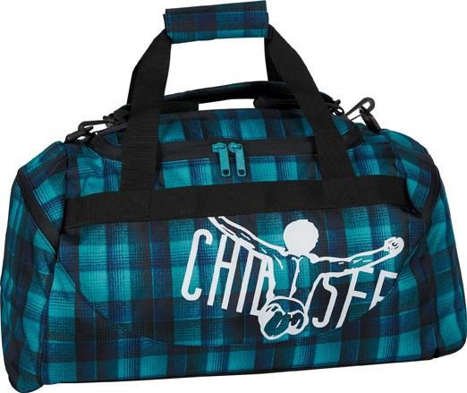 Chiemsee Matchbag Medium Checky Chan Blue