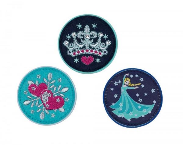 DerDieDas Buttons 3-teilig Star Princess