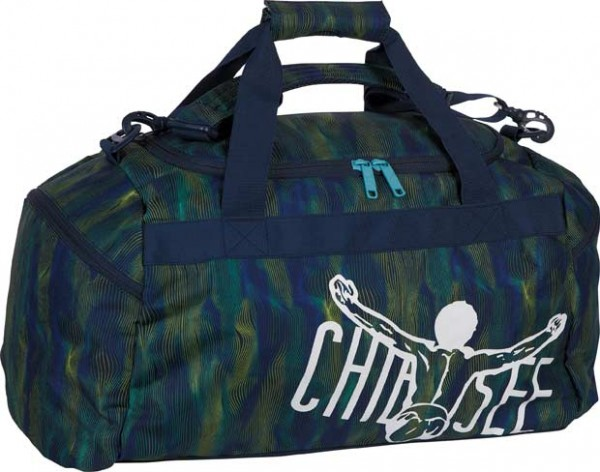 Chiemsee Matchbag Medium Line Dance Blue