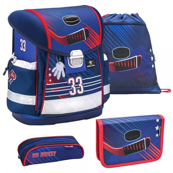Belmil Classy Schulranzenset 4-teilig Ice Hockey