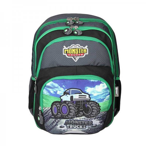 Spirit Schulrucksack School Bag Monster Truck