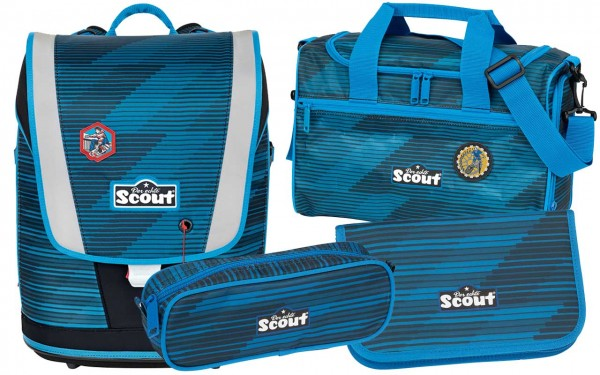 Scout Ultra Schulranzenset 4tlg. Sport