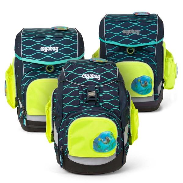 Ergobag Seitentaschen Zip-Sicherheitsset 3-teilig (Gelb)