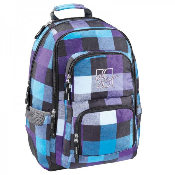 All Out Rucksack Schulrucksack Louth Caribean Check