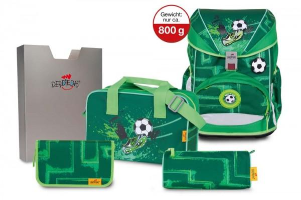 DerDieDas ErgoFlex Schulranzen-Set 5tlg. Green Goal