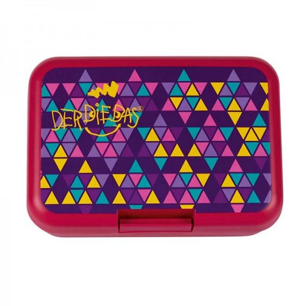 DerDieDas Brotdose Essbox Violett