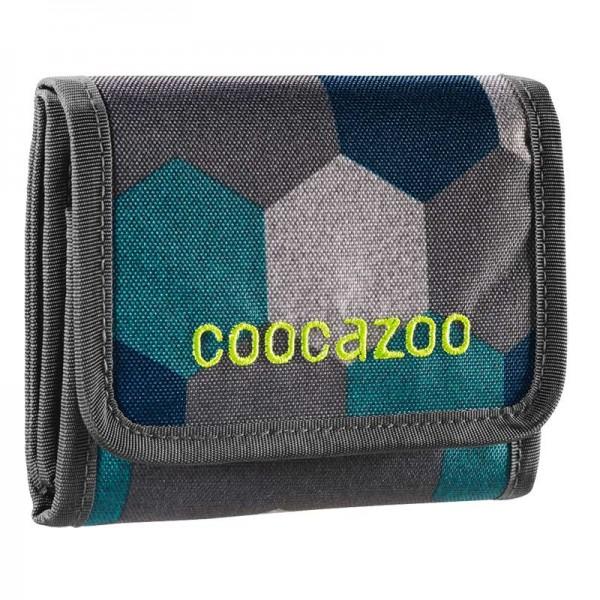 Coocazoo Geldbörse Cash Dash Blue Geometric Melange