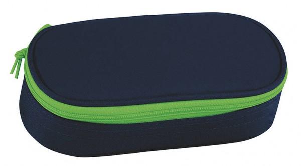 TAKE IT EASY Navy Green Etuibox Schlampermäppchen