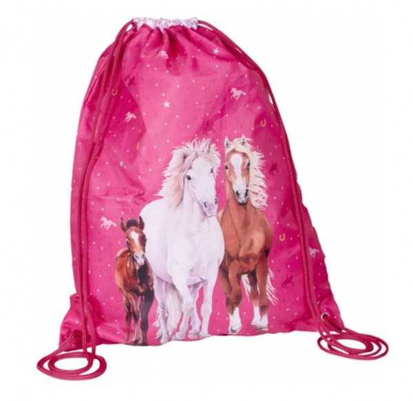 Sportbeutel Spiegelburg Pferdefreunde (pink)