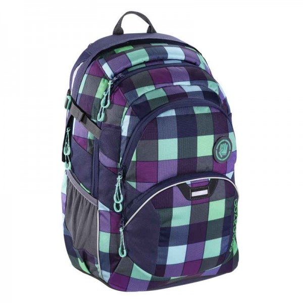 Coocazoo Rucksack JobJobber2 Green Purple District