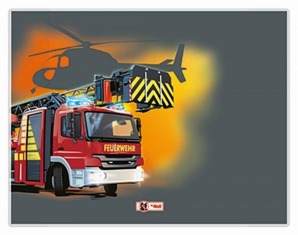 McNeill Schreibunterlage Feuerwehr