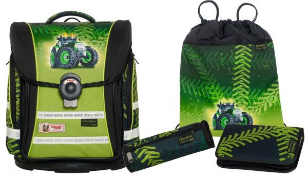 McNeill Greentrac Schulranzen ERGO Light Compact flex Set 4tlg.