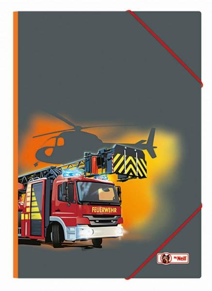 McNeill Gummizugmappe A3 Feuerwehr