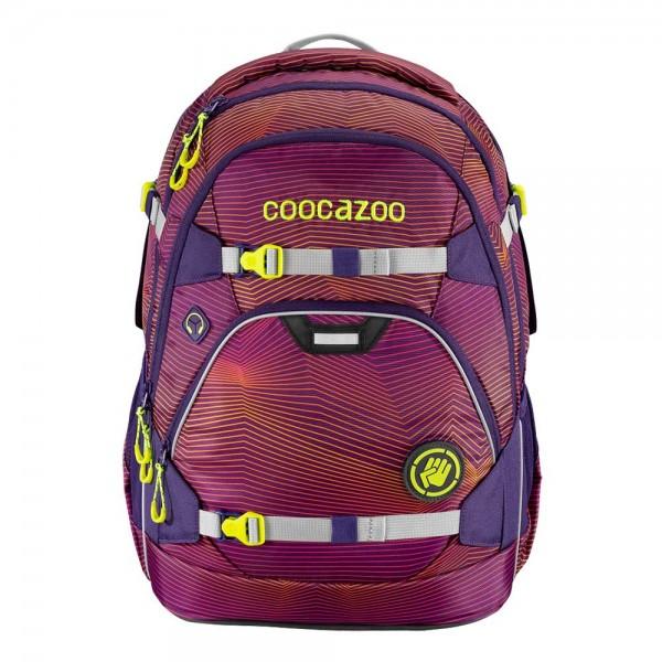 Coocazoo Schulrucksack ScaleRale Soniclights Purple