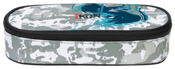 iKON Petrol Blue Pencil Case