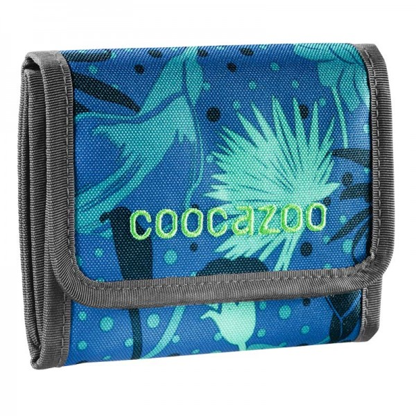 Coocazoo Geldbörse Cash Dash Tropical Blue