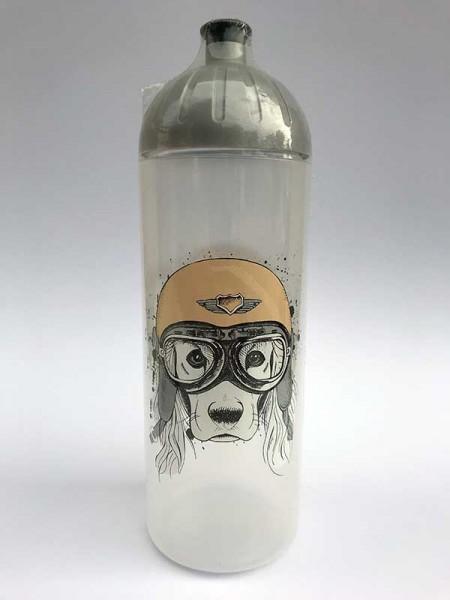 ISYbe Trinkflasche Hund, Volumen: 0,7L