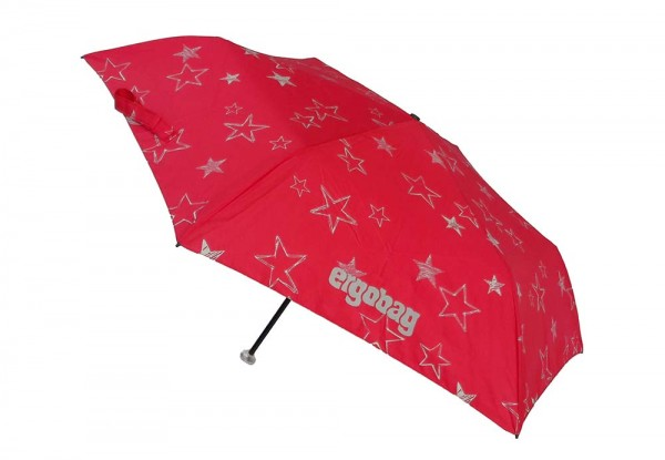 Ergobag Kinder Regenschirm CinBärella mit Reflektor