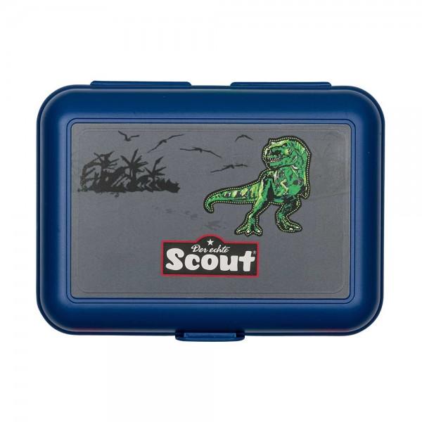 Scout Ess Box Brotdose Green Dino