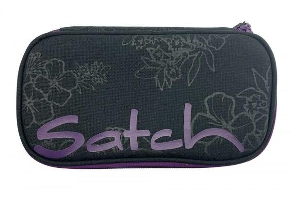 Satch Schlamperbox Schlampermäppchen Purple Hibiscus