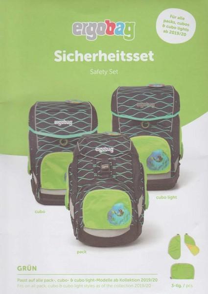 Ergobag Sicherheitsset 3-teilig Grün