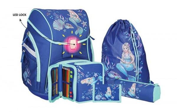 Spirit Schulranzen-Set 5tlg. PRO Light Mermaid Meerjungfrau